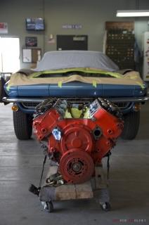 Joe's Blue Corvette